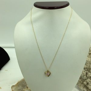 14K Real Gold Chain & 14K Gold Filled Pendant